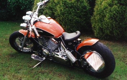 DragStar XVS 650 von Yamaha