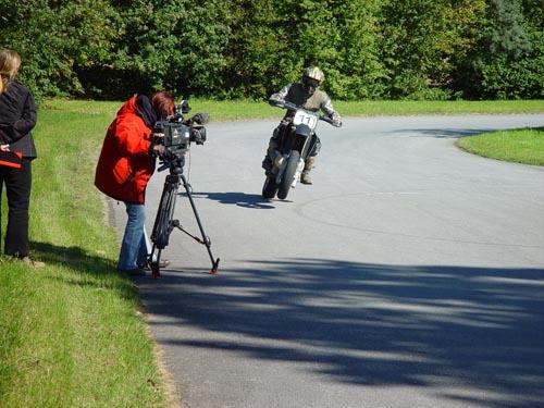 Filmaufnahme Driften