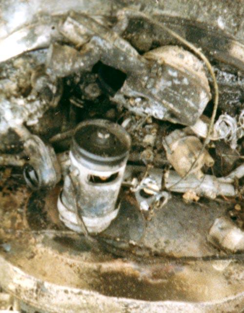 Käfermotor ausgebrannt