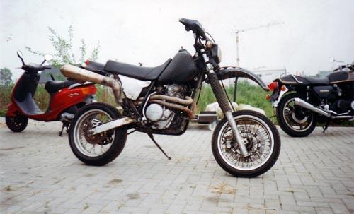 Super Moto Honda XR 600R